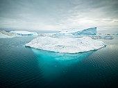 Arctic Icebergs Greenland XXXL