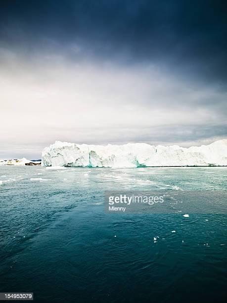 Oceano Ártico Majestoso Icebergue Pólo Norte XXXL
