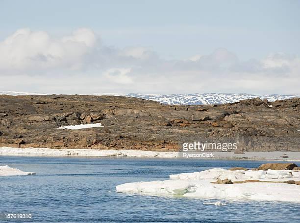 Arctic fiume, Isola di Baffin.