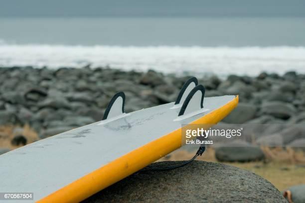 Arctic surfing at Unstad