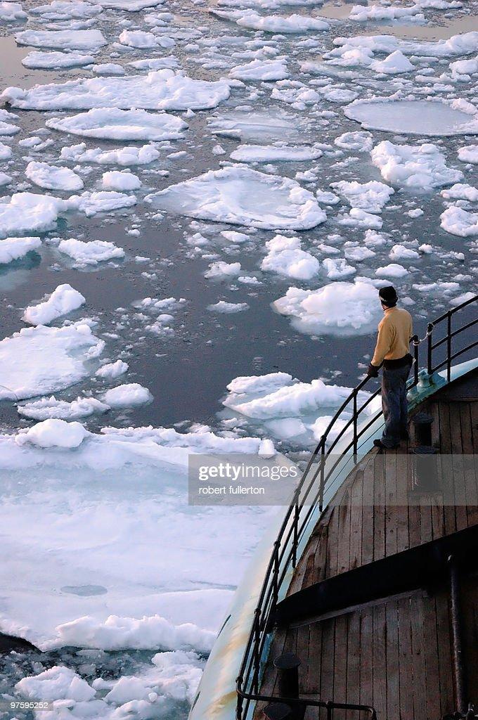 Arctic waters : Stock Photo