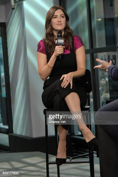 Arcy Carden attends Build series to discuss 'The Good Place' at Build Studio on September 18 2017 in New York City