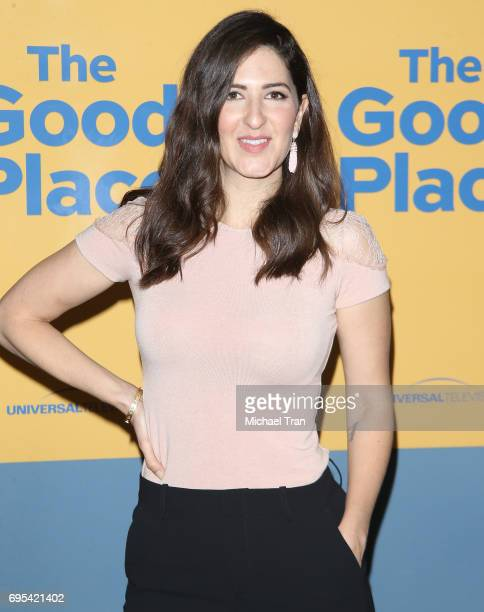Arcy Carden attends NBC's 'The Good Place' FYC event held at UCB Sunset Theater on June 12 2017 in Los Angeles California