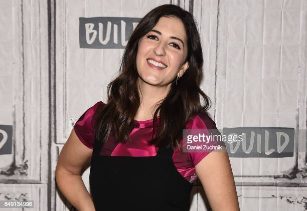 Arcy Carden attends the Build Series to discuss the show 'The Good Place' at Build Studio on September 18 2017 in New York City
