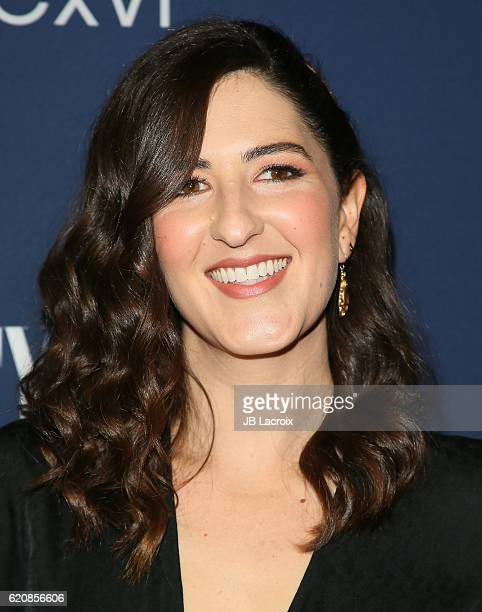 Arcy Carden attends the 'NBC and Vanity Fair toast the 20162017 TV Season' at NeueHouse Hollywood on November 2 2016 in Los Angeles California