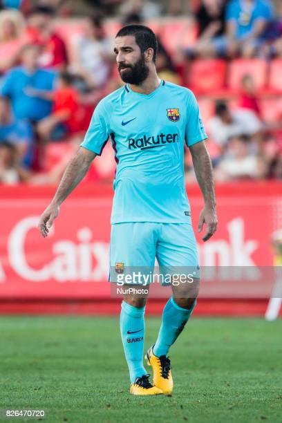07 Arda Turan from Turkey of FC Barcelona during the friendly match between Nastic vs FC Barcelona at Nou Estadi de Tarragona on August 4th 2017 in...