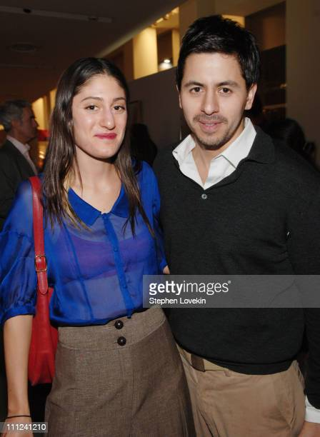 Arden Wohl and Brian Reyes during Brian Reyes Clebrates His Spring 2006 Collection Hosted by Maurice Villency at Maurice Villency Showroom in New...