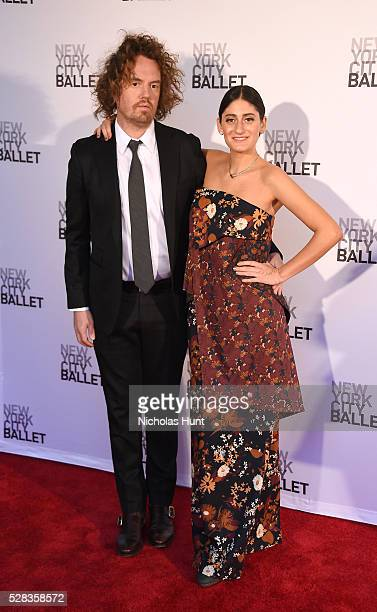 Arden Wohl and guest attend New York City Ballet's Spring Gala at David H Koch Theater at Lincoln Center on May 4 2016 in New York City