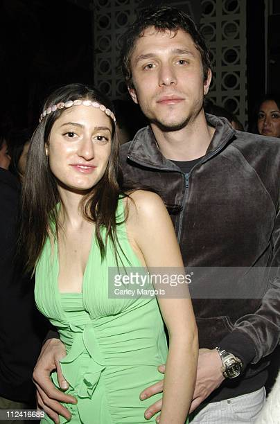 Arden Wohl and Matthew Roth during 5th Annual Tribeca Film Festival 'Journey to the End of the Night' Premiere After Party Premiere Film Music Lounge...