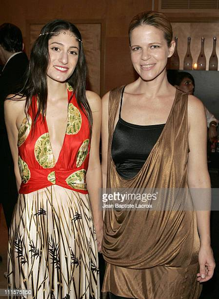 Arden Wohl and Yvonne Force during Art Basel Miami Beach 2006 LeeLee Sobieski Hosts Screening and Afterparty for 'COVEN' a Film by Arden Wohl at The...