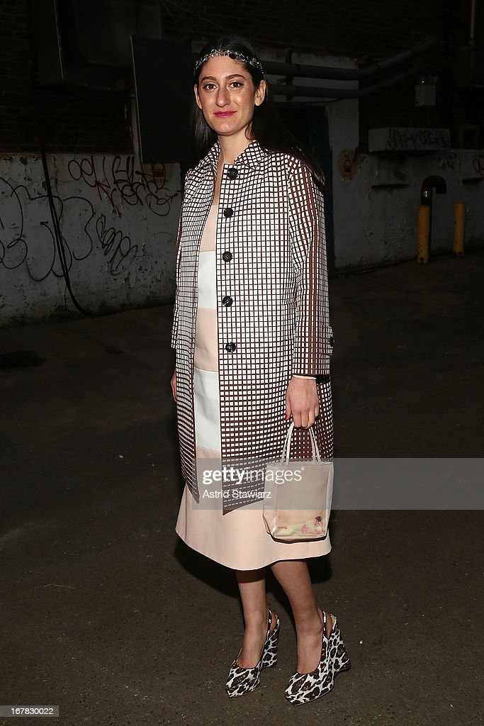Arden Wohl attends 2013 Creative Time Spring Gala at Domino Sugar Factory on April 30, 2013 in Brooklyn burough of New York City.