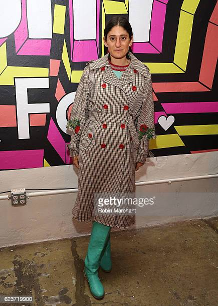 Arden Wohl attends Broad City x Fab Launch Party at Nom Wah Tea Parlor on November 16 2016 in New York City