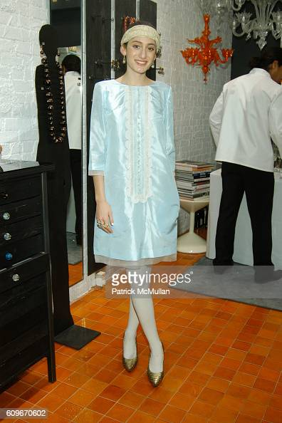 Arden Wohl attends NEW YORKERS FOR CHILDREN SALVIATI CHARITY BENEFIT at Salviati on December 13 2007 in New York City