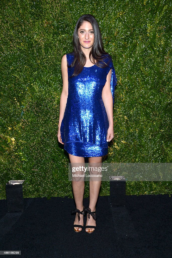 <a gi-track='captionPersonalityLinkClicked' href=/galleries/search?phrase=Arden+Wohl&family=editorial&specificpeople=2258677 ng-click='$event.stopPropagation()'>Arden Wohl</a> attends the CHANEL Tribeca Film Festival Artists Dinner at Balthazar on April 22, 2014 in New York City.
