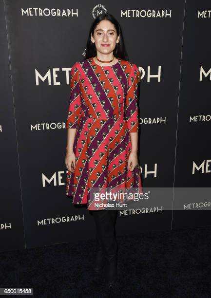 Arden Wohl attends the Metrograph Theater 1st Year Anniversary Party at The Metrograph on March 8 2017 in New York City