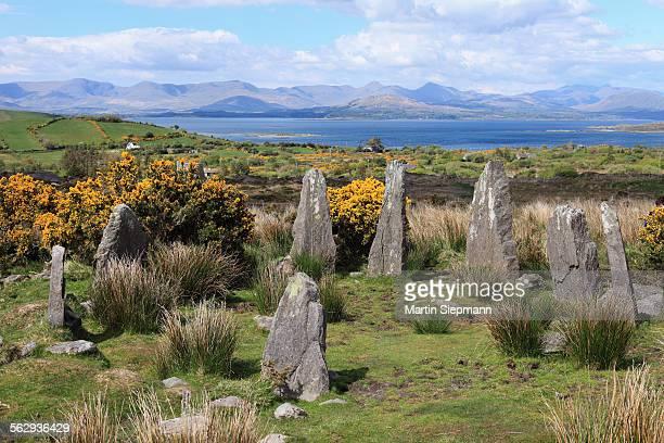 Ardgroom Stone Circle, Beara Peninsula, County Cork, Ireland, British Isles, Europe