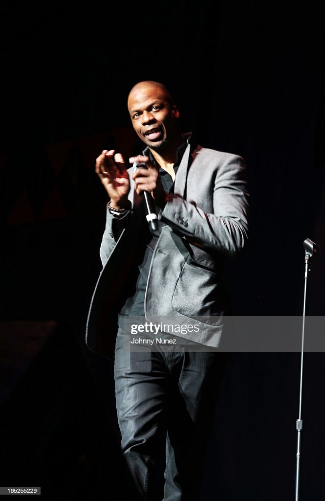 Ardie Fuqua performs at Hot 97's April Fool's Comedy Show at The Theater at Madison Square Garden on April 1, 2013, in New York City.