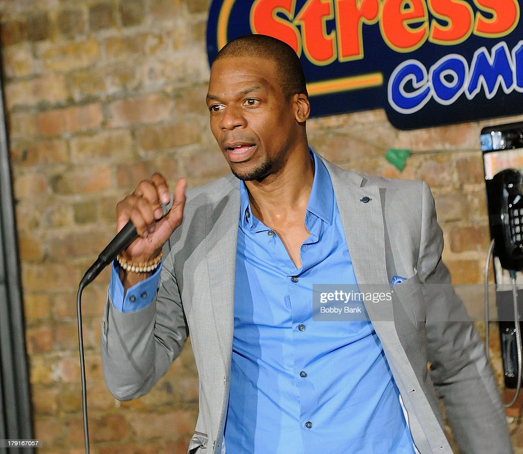 Ardie Fuqua performs at The Stress Factory Comedy Club on August 31, 2013 in New Brunswick, New Jersey.