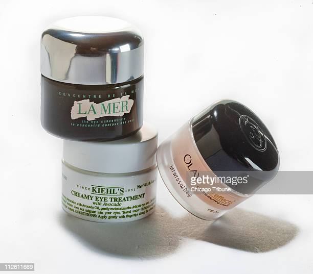 Are expensive eye creams worth it You can get good results in all price ranges an expert says Shown are 'La Mer' Kiehl's creamy eye treatment and...