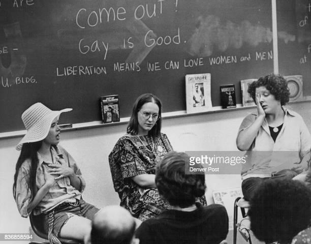 JUN 28 1974 are from left Elisa Laramore Lori Bradford and Clair Kaplan Credit Denver Post
