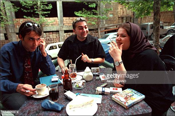 Are the mullahs losing their grip on Iran in Iran in June 2001 One of the main activities of youths in Teheran is to meet friends on cafe terraces...