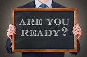 Are You Ready on Chalkboard