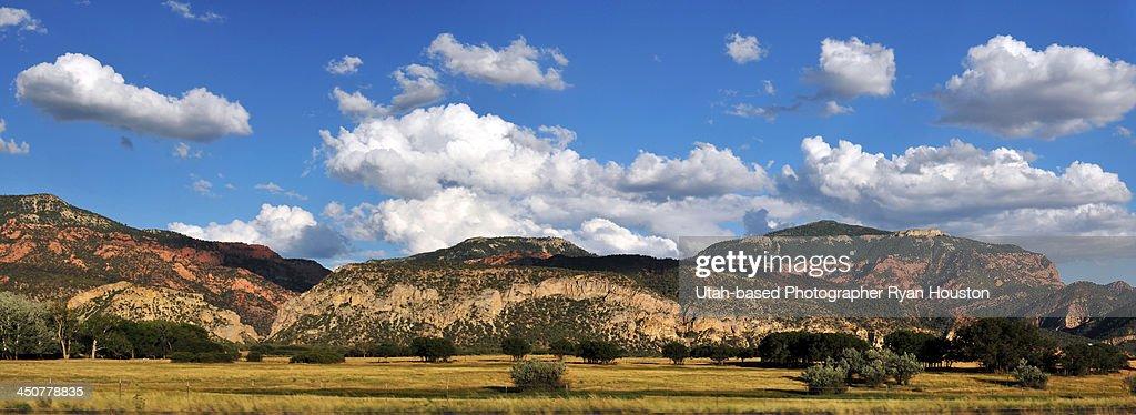Area Between Cedar City and St. George Utah : Stock Photo