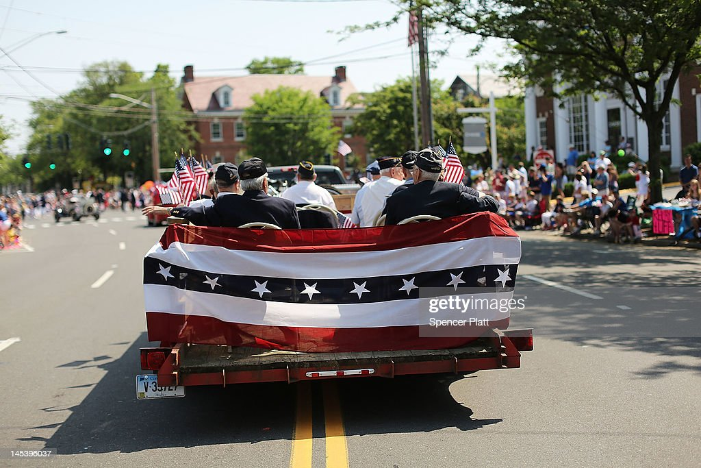Area veterans participate in the annual Memorial Day Parade on May 28, 2012 in Fairfield, Connecticut. Across America towns and cities will be celebrating veterans of the United States Armed Forces and the sacrifices they have made. Memorial Day is a federal holiday in America and has been celebrated since the end of the Civil War.