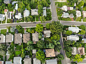 Areal Photo of Urban Houses