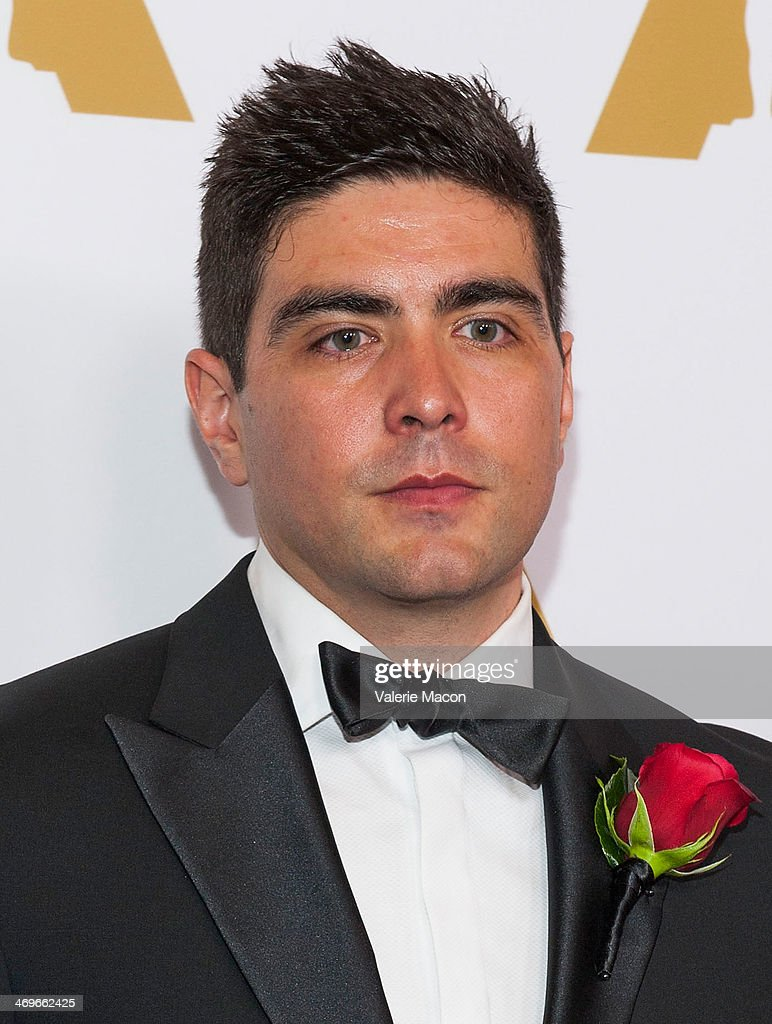 Areito Echevarria arrives at the Academy Of Motion Picture Arts And Sciences' Scientific And Technical Awards Ceremony at Beverly Hills Hotel on February 15, 2014 in Beverly Hills, California.