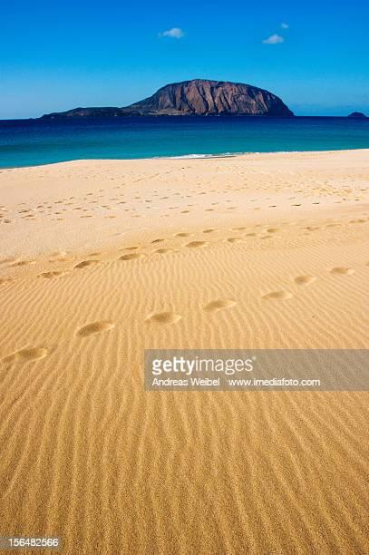Arena en la Playa de La Concha - La Graciosa