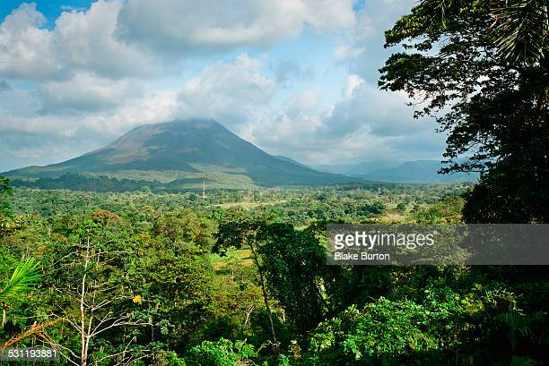 Arenal Volcano in northern Costa Rica