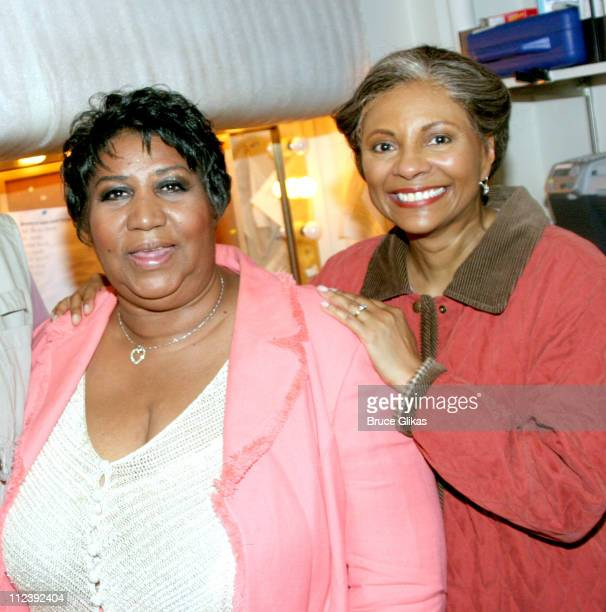 Aretha Franklin and Leslie Uggams **EXCLUSIVE COVERAGE**