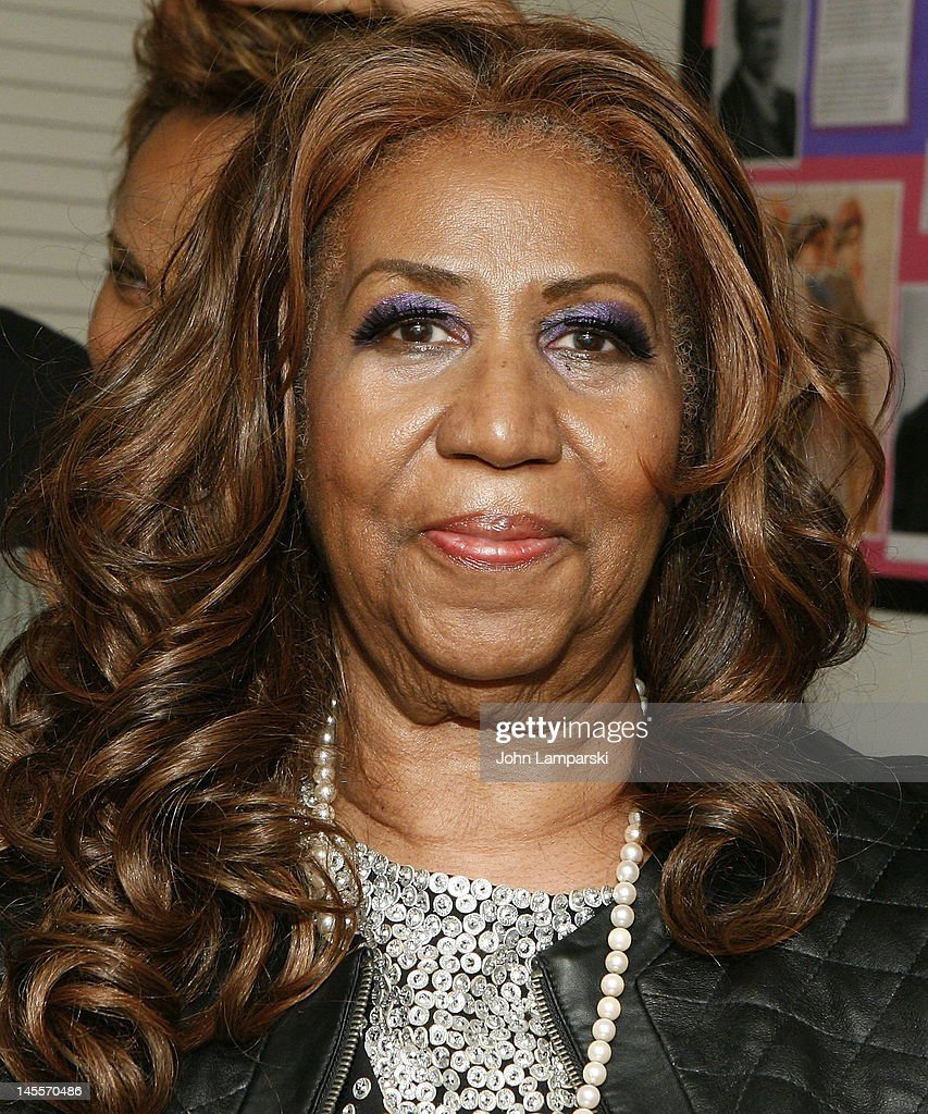 Aretha Franklin attends 'A Streetcar Named Desire' at The Broadhurst Theatre on June 1, 2012 in New York City.