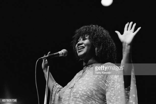 Aretha Franklin on Stage