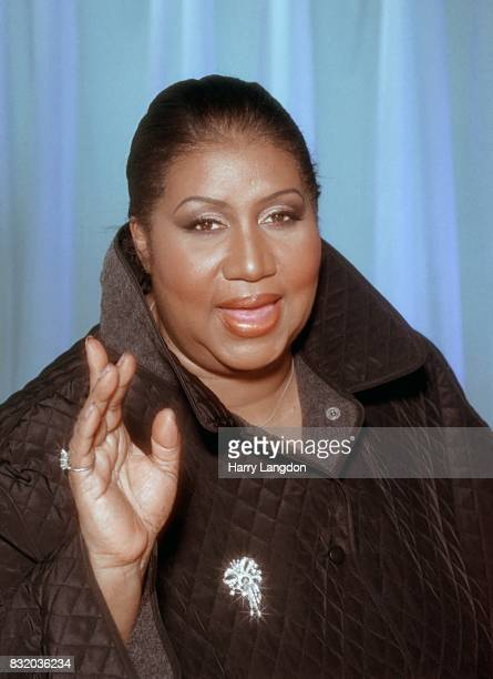 Aretha Franklin poses for a portrait in 2005 in Los Angeles California