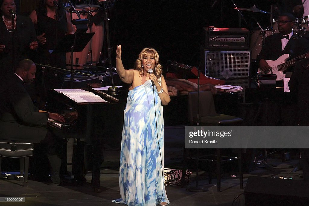 Aretha Franklin In Concert - Atlantic City, New Jersey