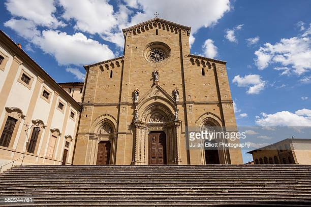 Arezzo cathedral in Arezzo, Italy.