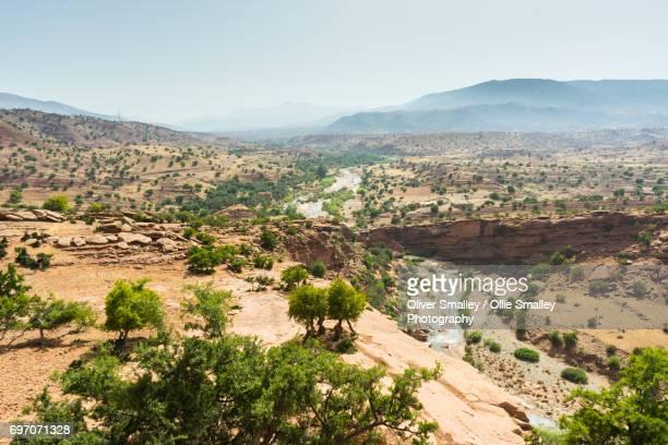 Argana Valley Oasis - Home of the Argan Tree - Argana Valley, Morocco