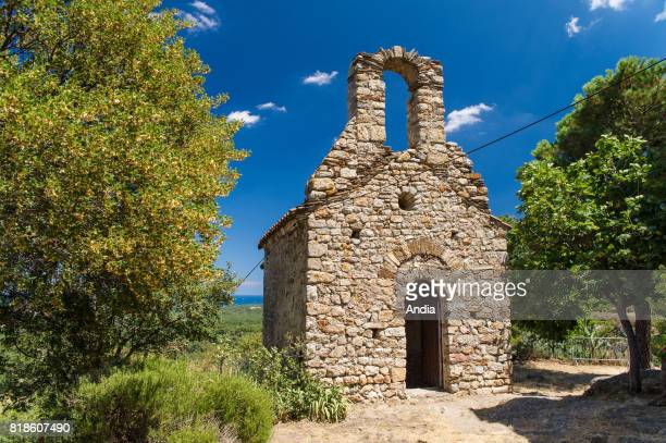 ArgelessurMer Set high up in the Albera Massif surrounded by a forest the tiny chapel of SaintJerome dating back to the Xth century close to the...