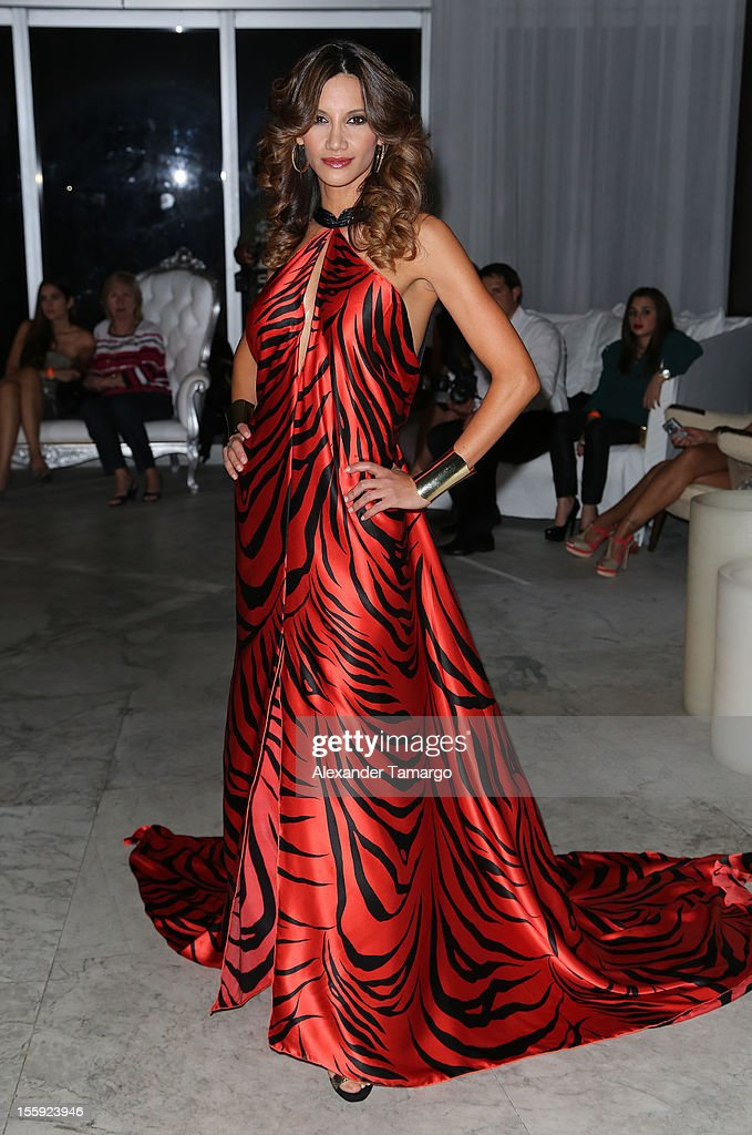 Argelia Atilano attends Miami Hair, Beauty & Fashion 2012 By Rocco Donna at Viceroy Hotel Spa on November 8, 2012 in Miami, Florida.