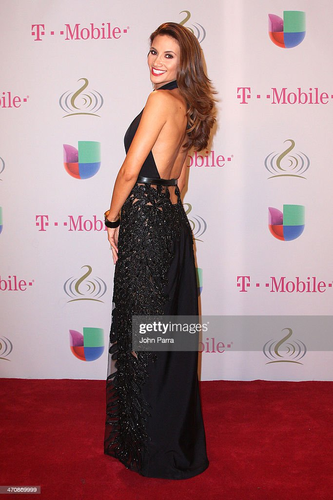 Argelia Atilano attends Premio Lo Nuestro a la Musica Latina 2014 at American Airlines Arena on February 20, 2014 in Miami, Florida.