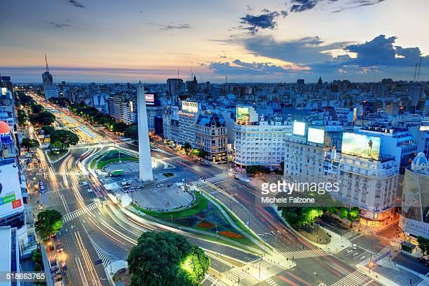 Argentina, Buenos Aires, Avenida 9 de Julio