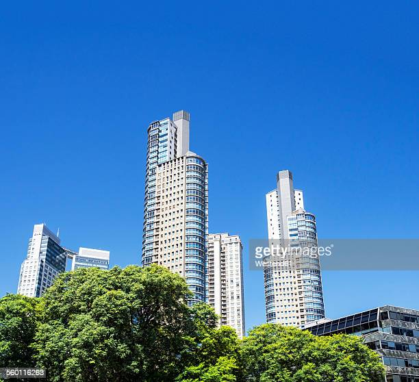 Argentina, Buenos Aires, Highrise buildings