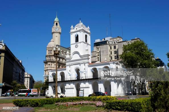 Argentina Buenos Aires Plaza De Mayo Cabildo Original Seat Of City Government