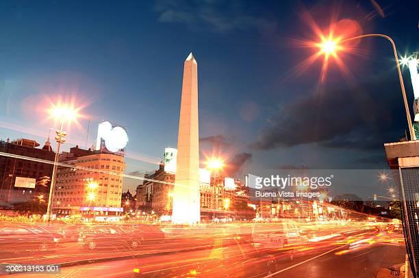 Argentina, Buenos Aires, Plaza de Republica, The Obelisc
