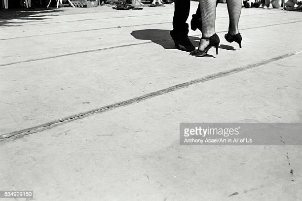 Argentina Buenos Aires Tango Feet in Recoleta