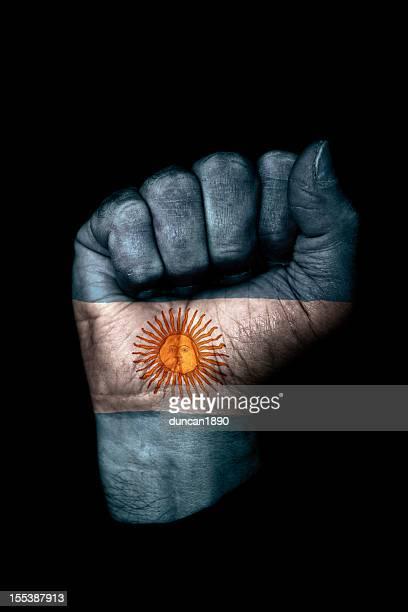 Puño bandera Argentina