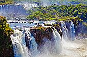 Argentina, Iguacu Falls, view from Brazilian side