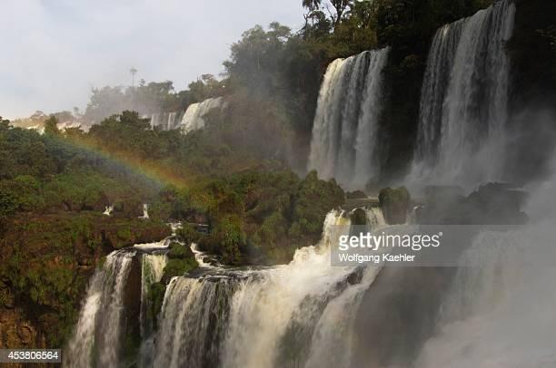 Argentina Iguassu National Park Iguassu Falls Bossetti Falls